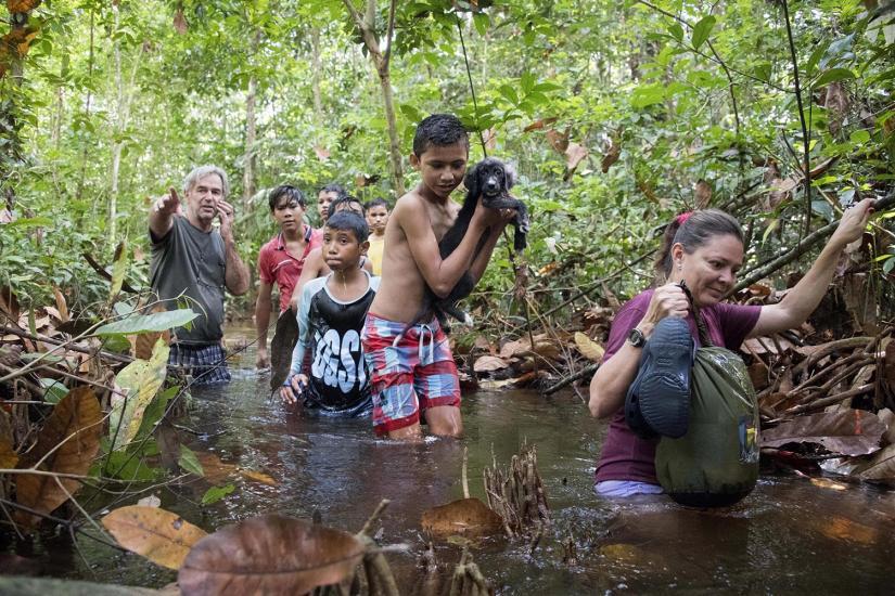 "Jean-Daniel Vallotton, directeur de la fondation ""Almerinda Malaquias"" , ONG qui travail avec des enfants et des adolescents de la ville de Novo Ãirao (Brésil)."
